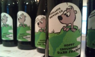 hoppy groundhog labels